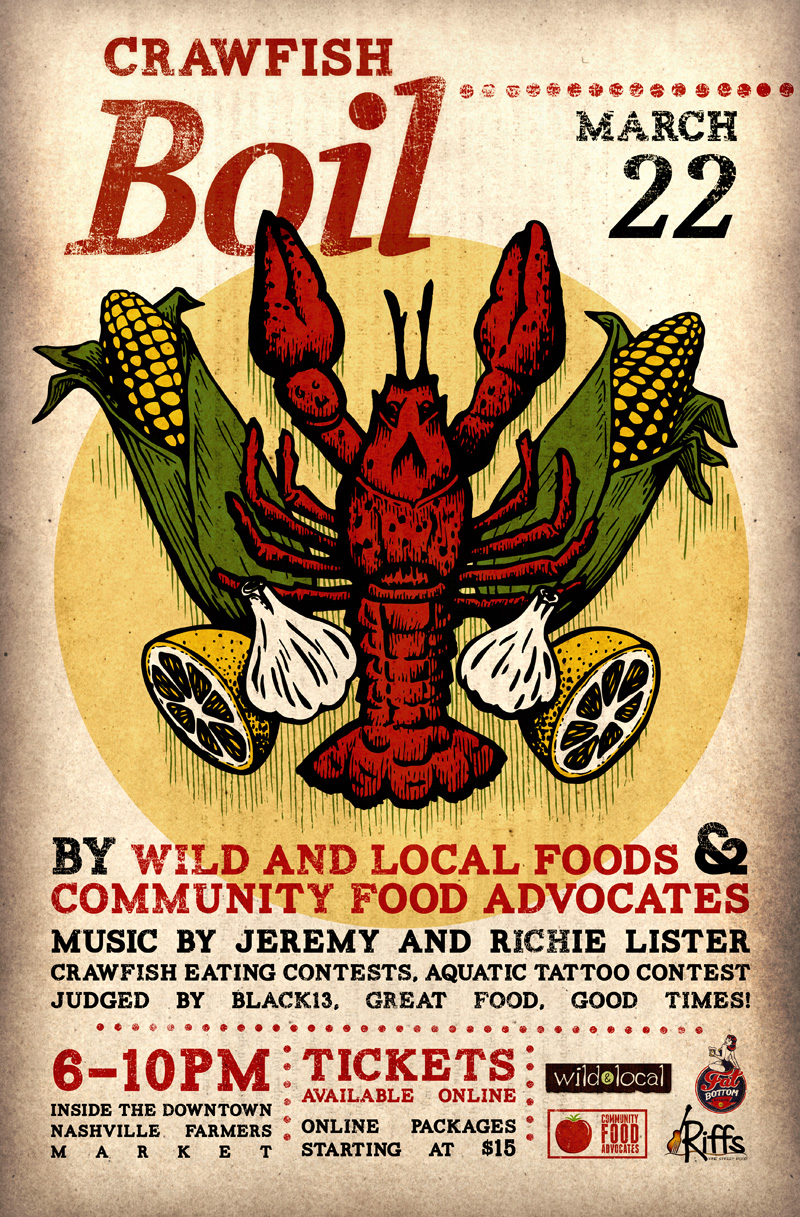 Crawfish Boil Poster